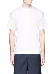 Acne Studios 'Naples Lux' Relaxed Fit Cotton T Shirt White