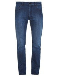 Fendi 3 D Monster Pocket Regular Fit Jeans Blue