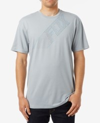 Fox Men's Graphic Print T Shirt Grey