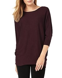 Phase Eight Becca Batwing Sweater Wine