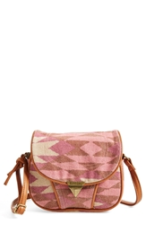 Rip Curl Geo Crossbody Bag Juniors Calypso Coral