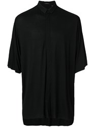 Unconditional High Low Hem Shirt Black
