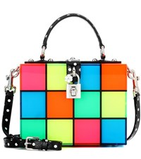 Dolce And Gabbana Box Dance Floor Shoulder Bag Multicoloured