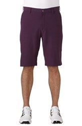 Adidas Men's 'Ultimate' Golf Shorts Red Night
