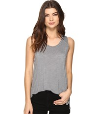 Project Social T James Tank Top Blue Slate Women's Sleeveless