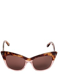 Linda Farrow Erdem Tortoise Shell And Glitter Sunglass