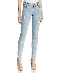 Alice Olivia Jane Skinny Jeans In Stone Wash