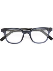 Christian Dior Dior Homme 'Black Tie 219' Glasses Blue