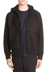Ami Paris Mattiussi Men's Alexandre Oversize Full Zip Hoodie Black