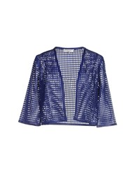 Milly Suits And Jackets Blazers Women Dark Blue