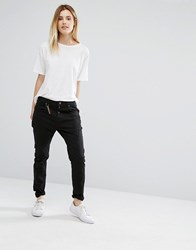 Vero Moda Antifit Black Skinny Trousers Leg 32 Black