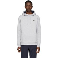 Lacoste Grey Classic Logo Hoodie