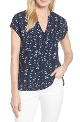 Draper James Daisy Vines Popover Top