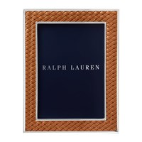 Ralph Lauren Home Brockton Photo Frame Saddle 5X7 Brown