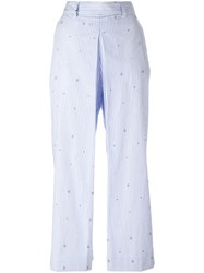 Wood Wood Marion Trousers White
