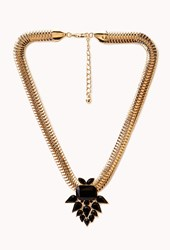 Forever 21 Retro Faux Stone Necklace