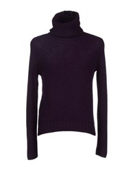 Gianfranco Ferre Gf Ferre' Knitwear Turtlenecks Men Mauve