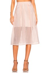 Jack By Bb Dakota Clarice Midi Skirt Peach