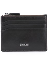Cerruti 1881 Zip Cardholder Brown