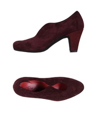 Pas De Rouge Pumps Deep Purple