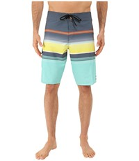Billabong All Day Stripe 21 Boardshorts Mint Men's Swimwear Green