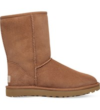 Ugg Classic Ll Short Sheepskin Boots Brown