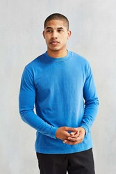 Cpo Heavyweight Long Sleeve Crew Neck Tee Blue