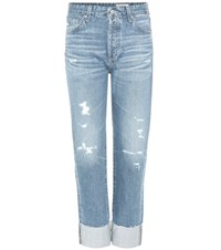 Ag Jeans The Sloan Distressed Blue