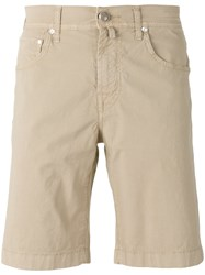 Jacob Cohen Chino Shorts Nude Neutrals