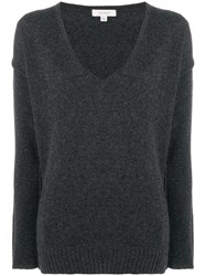 Crossley Knitted Sweater Grey