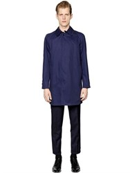 Massimo Piombo Waterproof Techno Gabardine Car Coat