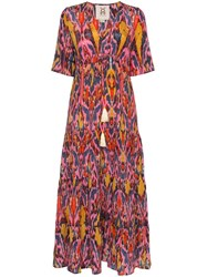 Figue Kalila Printed Maxi Dress Noifp