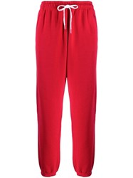 Polo Ralph Lauren Drawstring Waist Trousers Red