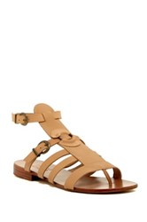 Australia Luxe Collective Palm Gladiator Sandal Brown
