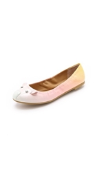 Marc By Marc Jacobs Elastic Mouse Ballerina Flats Sunset Multi