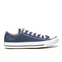Converse Chuck Taylor All Star Ox Canvas Trainers Navy White