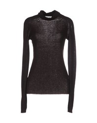 Ermanno Scervino Knitwear Turtlenecks Women Dark Brown