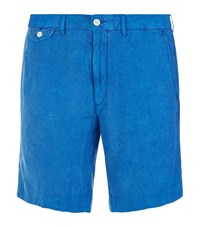 Polo Ralph Lauren Linen Straight Fit Shorts Male