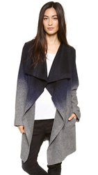 Bb Dakota Deva Ombre Coat Blue