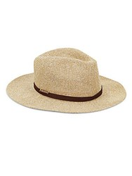 Vince Camuto Tweed Fedora Natural