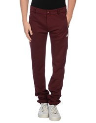 Le Coq Sportif Trousers Casual Trousers Men Maroon