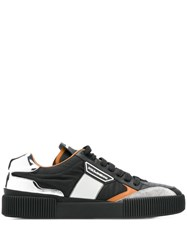 Dolce And Gabbana Miami Lace Up Sneakers Black