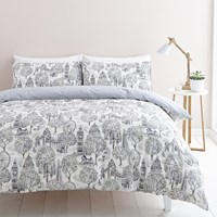 Cath Kidston London Toile Duvet Set Black And White