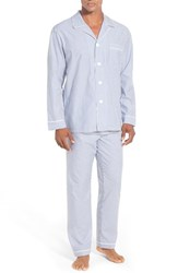 Majestic International Men's Big And Tall Stripe Cotton Pajamas