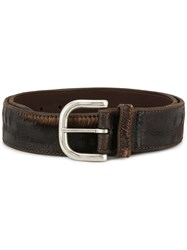 Orciani Cutting Belt Brown