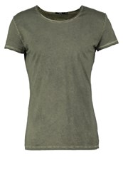 Tigha Wren Basic Tshirt Vintage Olive Green