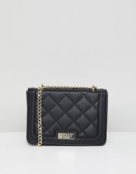 Lipsy Multi Way Cross Body Quilted Bag Black