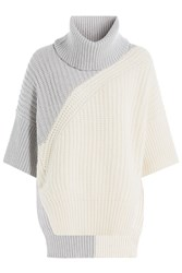 Derek Lam Turtleneck Pullover With Virgin Wool And Cashmere White