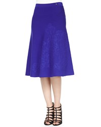 Escada Embossed A Line Skirt Ink