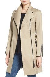 Mackage Women's Belted Long Trench Coat Sand
